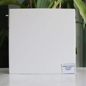 đá solid surface màu artic white