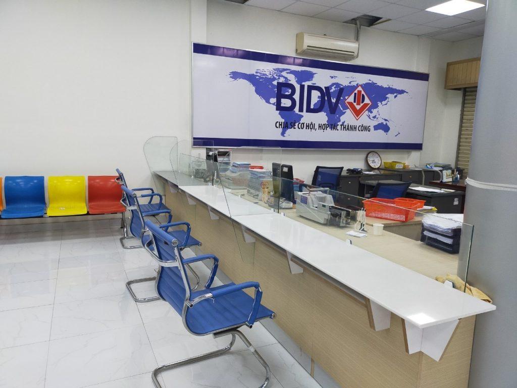 Quầy giao dịch BIDV An Giang