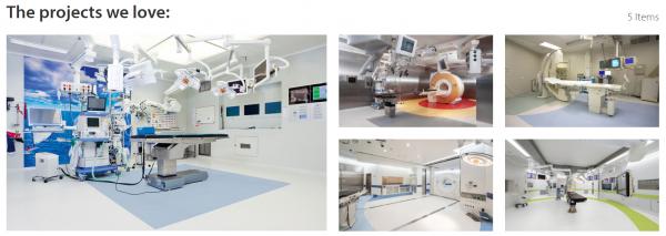 Giải pháp sàn cho bệnh viện