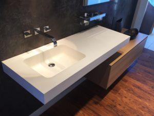 lavabo đá solid surface