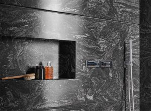 Đá Solid Surface ốp tường phòng tắm
