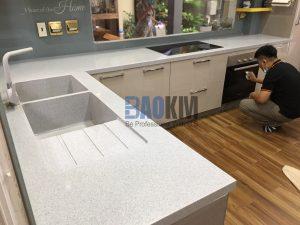 Mặt bếp đá Solid Surface DuPont Mỹ