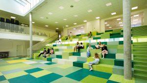 thiết kế sàn nhựa kháng khuẩn 2021